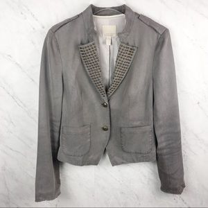 Banana Republic Heritage Blazer with Stud Details